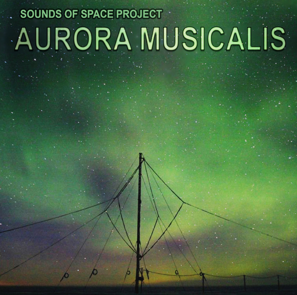 Album cover showing the Aurora Borealis night sky with telegraph wires